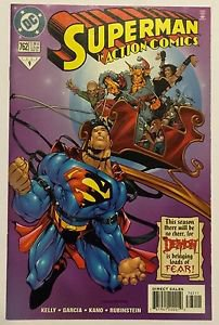 Superman In Action Comics #762 (Feb 2000, DC) NM Condition The Demon