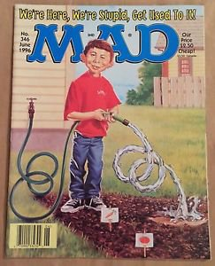 MAD Magazine #346 (Jun 1996, EC) Gardening Parody Cover