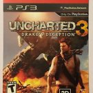 Playstation 3 Uncharted 3 Drake's Deception Blockbuster Artwork Display Card