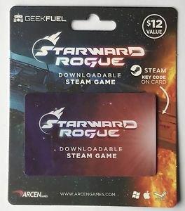 Starward Rogue Downloadable Card Steam Game Arcen Geek Fuel New