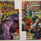 Superman Infestation Complete 4 Issue Comic Set Adventures of Superman 591 Actio