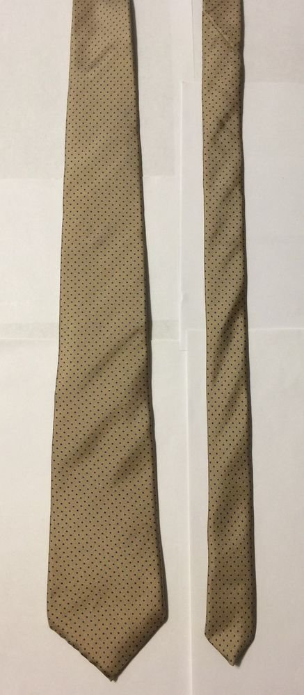 Marshall Field's Dot Pattern Silk Silk Necktie Tie