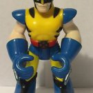 Spider-man and Friends Wolverine Action Figure Loose 2003 ed with straight arms