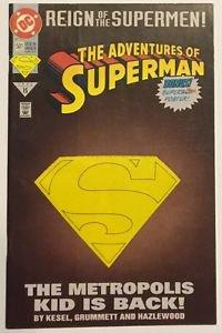 Adventures of Superman #501 [DM] (Jun 1993, DC) FN Condition Reign of Supermen