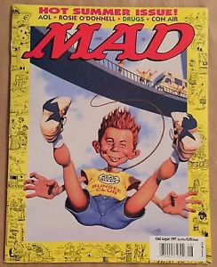 MAD Magazine #360 (Aug 1997, EC) Bungee Jumping Parody Cover