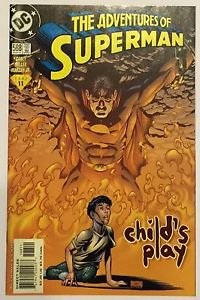 Adventures of Superman #588 (Mar 2001, DC) FN/VF Condition Child's Play