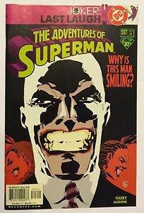 Adventures of Superman #597 (Dec 2001, DC) FN/VF Condition Joker Last Laugh