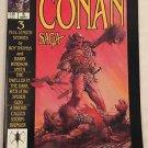 Conan Saga #5 (Sep 1987, Marvel) VG/FN Condition Comic Magazine