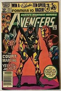 The Avengers #213 (Nov 1981, Marvel) MJ Mark Jewelers Variant VG/FN Condition