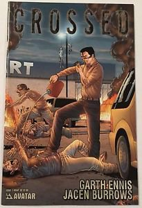 Crossed #2 (Oct 2008, Avatar Press) Wrap Cover Garth Ennis  Jacen Burrows VF