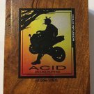 Acid Cigars By Drew Estate Holistics Cold Infusion Empty Cigar Box