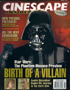 Cinescape Insider Star Wars and Other Sci-Fi Cinema Darth Vader Cover Special