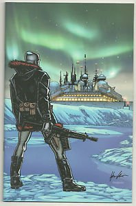 G.I. Joe #10 (Oct 2009, IDW) Retailer Incentive Virgin Variant Cover