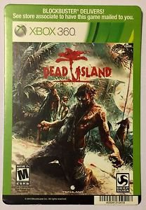 Xbox 360 Dead Island Blockbuster Artwork Display Card
