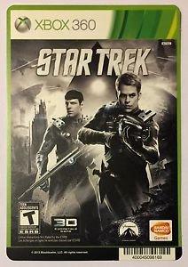 Xbox 360 Star Trek Blockbuster Artwork Display Card