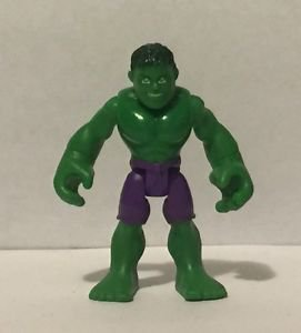 Marvel Super Hero Adventures Hulk 2.75 Inch Action Figure Hasbro Playskool
