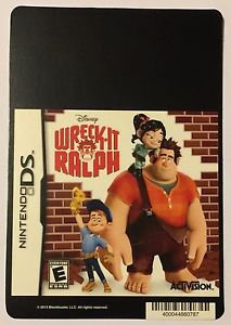 Nintendo DS Wreck-It Ralph Blockbuster Artwork Display Card