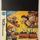 Nintendo DS Mario VS Donkey Kong Mini-Land Blockbuster Artwork Display Card
