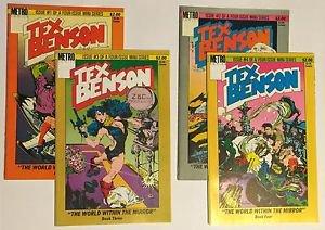 Tex Benson Complete 4 Issue Metro Comics Miniseries 1 2 3 4