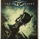 The Dark Knight Blu-Ray Blockbuster Artwork Display Card