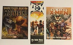 X-MEN Lot of 3 Promotional Items AVSX Bookmark First Wolverine 310 Postcards
