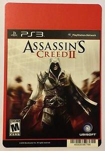 Playstation 3 Assassin's Creed II Blockbuster Artwork Display Card