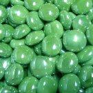 Creative Stuff Glass 5 lb Opal Green Iridized Glass Gems Mosaic Tiles Flat Marble Vase Fillers