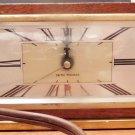 Seth Thomas Electric Tabletop Shelf Clock Vintage