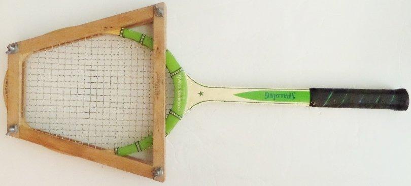 Tennis Racquet, Racket, Spalding Woodstar, Stretcher, Rosemary Casals, #Sports, #Tennis, Game
