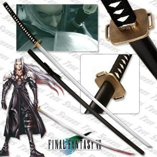 final fantasy masamune sephiroths sword 68quot with stand