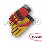 Majestic 2130R Mechanics Brushed Pigskin Leather Palm Thin Work Gloves - LARGE
