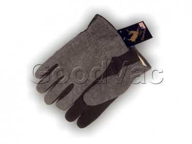 Majestic 1663 Split Soft Deersking Leather Palm Heatlok Winter Fleece Gloves - L