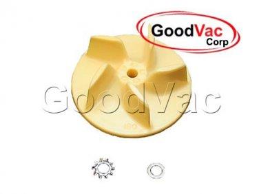 "Genuine Oreck Vacuum Cleaner Sweeper Fan Impeller Ventilator 2 3/4"" R0008"