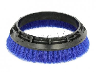 "Oreck Orbiter 12"" Scrub  Scrubbing Polish Brush Blue 237-058 237058 Poly"