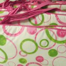 JOJO Designs Girl Crib Bedding Nursery Set Pink Green Mod Dot Bumper and Skirt