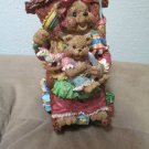 Mama Baby Bear Figurine On Rocking Chair Music Box I Want To  Be Your Teddy Bear