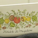 Vintage Corning Spice of Life Casserole Dish 3 Qt W Lid Great Addition For You