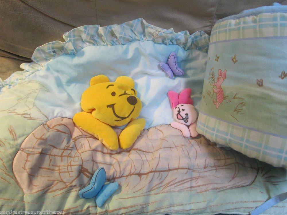 Disney Baby Bumper Winnie the Pooh Crib Decor 3 D Headboard Pad by Crown Crafts