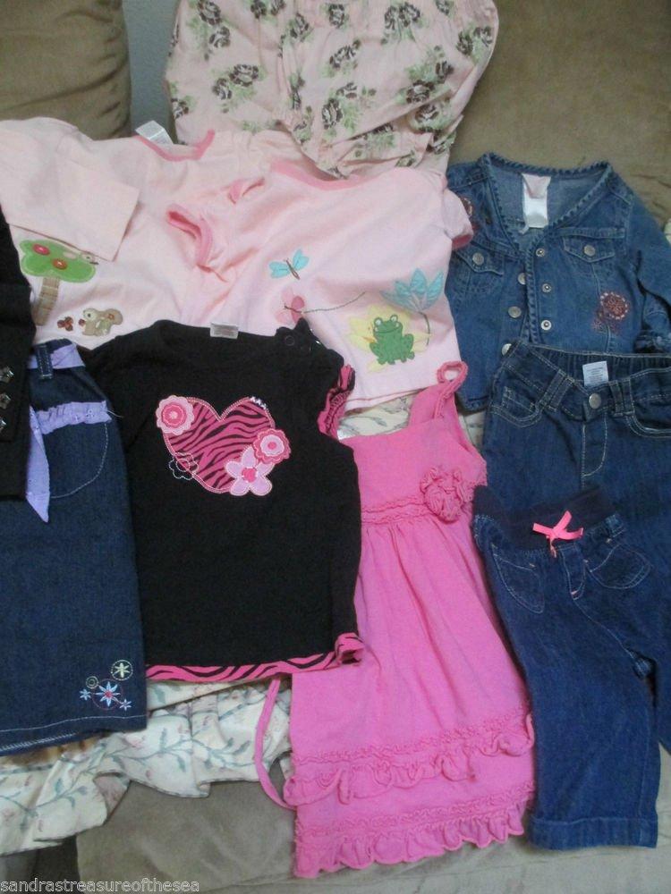 Baby Girl 12 to 18 Mo Clothing Lot Spring Summer Gymboree Isobella & Chloe BabyQ