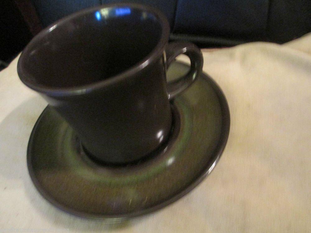 Four Vintage Franciscan Madeira  Coffee Mug Cup Sets Very Nice