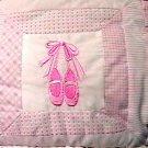 Bright Future Crib Bumper JCP Bumper Standard Crib Pinks Embroidered Designs