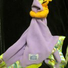 Disney Baby Winnie the Pooh Purple Tigger Satin Swirl Baby Security Blanket