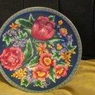 Four Sango Margaux 4835 Salad Dessert Plates Stoneware Floral Rose Japan