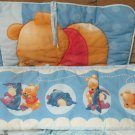 Disney Winnie the Pooh and Igor Baby Crib Bumper Set W Crib Skirt
