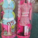 Two Collectible Barbie Fashion Fever Barbie Doll Fashion Outfits Mattel 2005 NIP