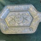 Two Anchor Hocking Trays Use For Veggies Relish Fits Diamond Shape Cream Sugar