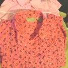 Cumberland Outfitters Pink Shirt M and Wrangler Pink Western Print Shirt L Girls