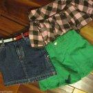 Lot Girls Skirts Dresses Justice Gymboree Tommy Jolt Gap Sz 5 6 Back To School