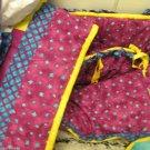 My Dog Spot $ Pc  Baby Crib High Quality Bedding Set Made Rancho Santa Fe USA
