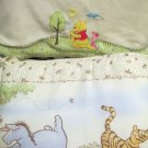 Disney Winnie the Pooh Classic Pooh Crib Bumper Pad and Blanket Really Nice